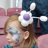 Facepaint & Matching Balloon Hairband